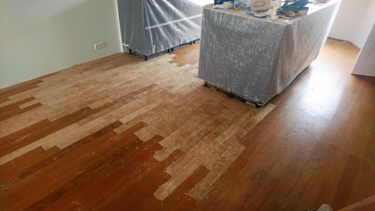 Oude Houten Vloeren : Opknappen aanhelen houten vloeren of waterschade u2013 drvloer