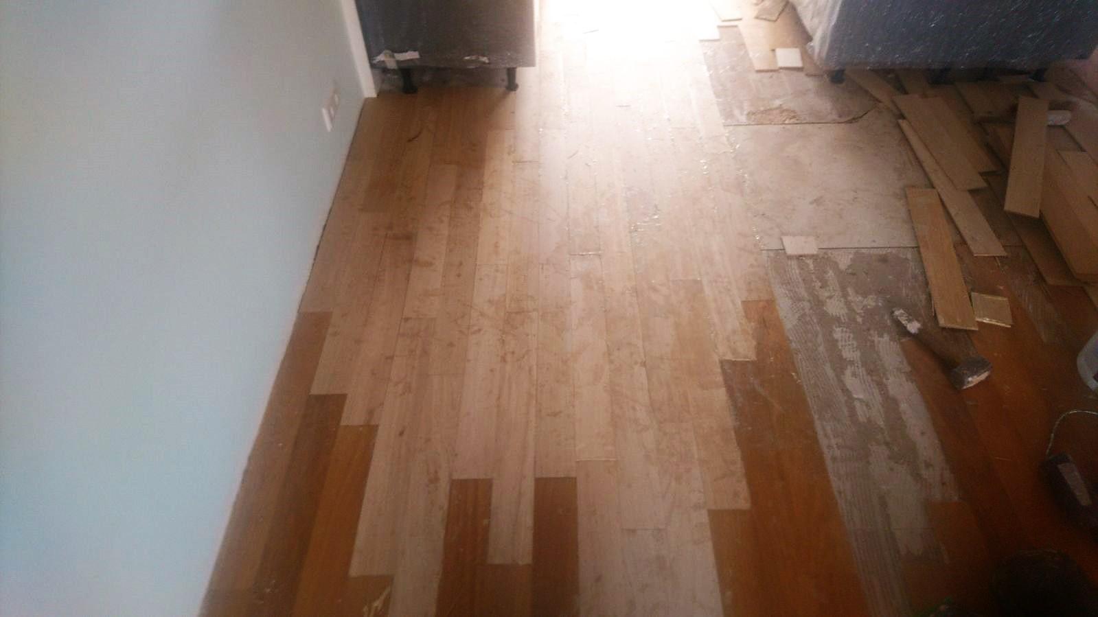Onbehandelde Houten Vloer : Opknappen aanhelen houten vloeren of waterschade u drvloer