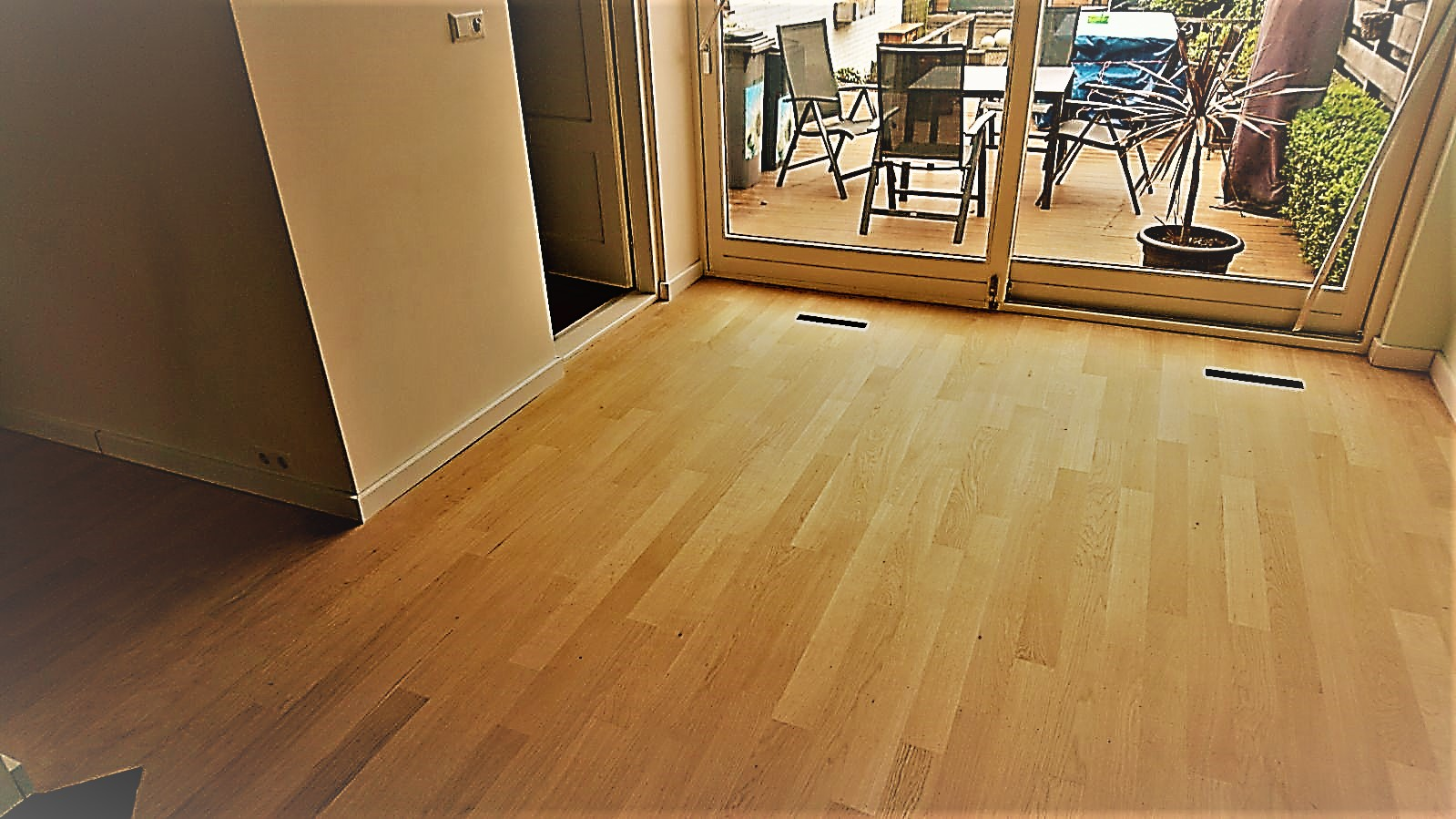 Opknappen aanhelen houten vloeren of waterschade u drvloer