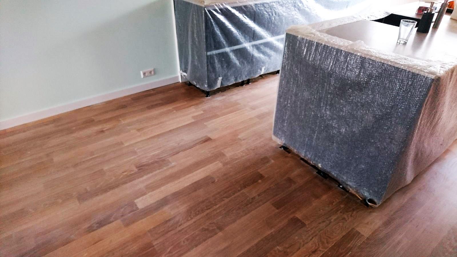 Opknappen aanhelen houten vloeren of waterschade u2013 drvloer